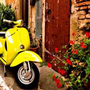 Vespa Tuscany Umbria